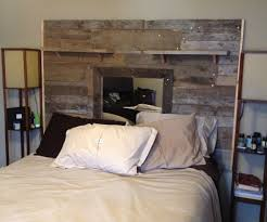Headboards Made With Pallets Excellent Idea Of Wood Pallets Headboard Photo Beds Amp Headboards