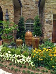 Fiberglass Fountains Outdoor Decor Garden Center The Home Ideas - Pond lights home depot