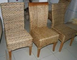 Wicker Dining Room Chairs Indoor Wicker Dining Chair Foter