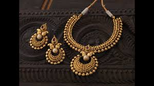 necklace online store images Latest gold necklace by khazana jewellers necklace for wedding jpg
