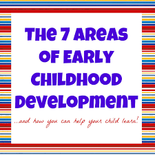 domains of early childhood development i can teach my child