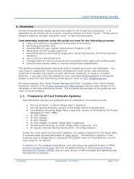 construction cost estimate template 3 free templates in pdf
