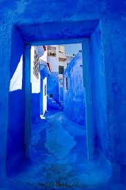 blue city morocco this old town in morocco is covered in blue paint bored panda