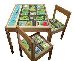 Kids Outdoor Furniture Ikea Set Of Sticker Designs For Ikea Latt Kids Table And Chairs