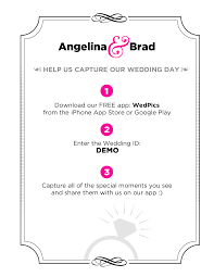 wedpics wedding app how to invite your guests wedpics the 1