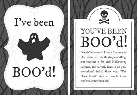 Printable Halloween Stationary You U0027ve Been Booed Printables Picmonkey Blog
