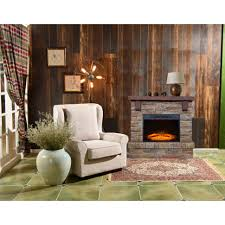 living room wall fireplace decor table lamp ideas wooden chair