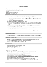 Sample Etl Testing Resume by Shreya Jain Etl Testing