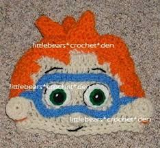 custom crocheted boutique bubble guppies nonny beanie hat