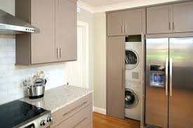 laundry in kitchen ideas washer and dryer in kitchen grapevine project info