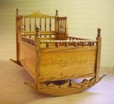 wooden bassinet cradle foter