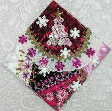 Quilted Christmas Ornament Patterns Kitty And Me Designs Crazy Quilt Blocks For Christmas Ornaments