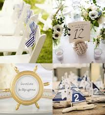 nautical wedding party 4 looks inspired by summer wedding trends beau coup blog