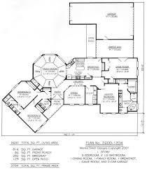 2800 square foot ranch house plans