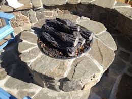 Gas Fire Pit Kit by Outdoor Stone Fire Pit Kits And Fire Pit Inserts