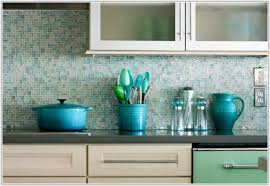 blue glass tiles for kitchen backsplash tiles home decorating