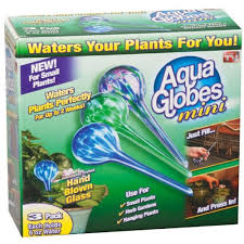 Glass Globes For Garden Aqua Globes Mini Water Globe Ag071106 The Home Depot