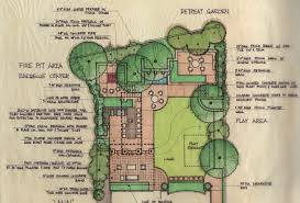 backyard plan landscape design gallery ammari residence yard pinterest
