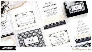 wedding invitations catalogs by mail these deco wedding