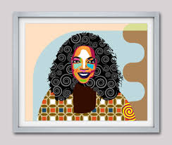 oprah winfrey art celebrity portraits oprah winfrey pop art