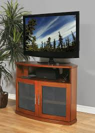 Corner Wood Tv Stands Amazon Com Plateau Newport 40 B Corner Wood Tv Stand 40 Inch