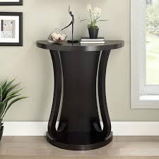 Half Moon Console Table Stylish Dark Leg For Modern Half Moon Console Table With Small