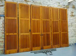 wicker room divider vintage architectural oregon pine room divider bi folding doors