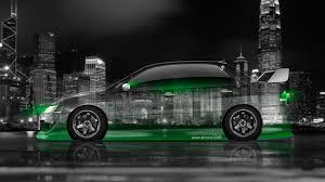 mitsubishi green mitsubishi lancer evolution jdm side crystal city car 2014 el tony