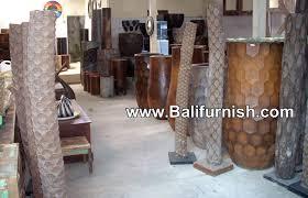 trunk palm tree pots planters indonesia bali
