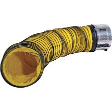 plastic ducting for ventilation j u0026 d mfg confined space vent fan and duct hose combo kit model