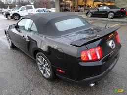 Black 2011 Mustang Gt Ebony Black 2011 Ford Mustang Gt Cs California Special Convertible