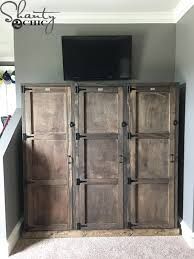 Pottery Barn Locker Dresser Diy Locker System Shanty 2 Chic