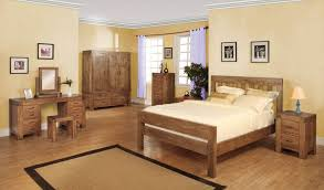 valencia rustic oak king size bed frame hampshire furniture