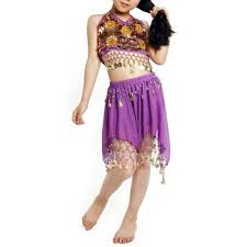 egyptian halloween costumes for girls amazon com bellylady kid egyptian belly dance costume skirt