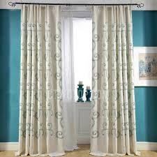 Faux Silk Embroidered Curtains Lovely Pink Faux Silk Embroidered Leaf Pattern Bedroom Curtains