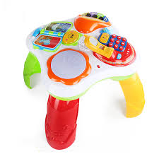 baby standing table toy free shipping musical baby activity table sit to standing learning