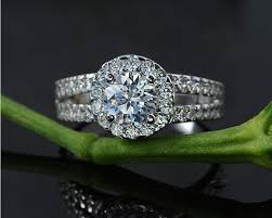 galaxy wedding rings wholesale fashion zirconia silver rings for women engagement