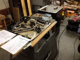 powermatic table saw parts restoration powermatic 66 table saw page 3 router forums