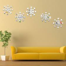 Wall Stickers And Tile Stickers by 115pcs Modern Self Adhesive Mirror Tiles Stickers Self Adhesive