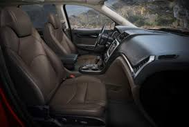 Buick Enclave 2013 Interior 2013 Acadia Offers Good Value Over Enclave Traverse Ny Daily News