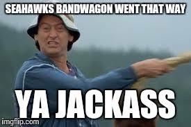 Seahawks Bandwagon Meme - image tagged in football imgflip