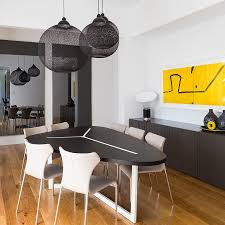 dining room modern interior lighting design by lightology