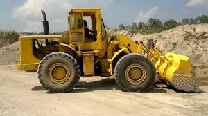 payloader cargador frontal caterpillar 966 c youtube