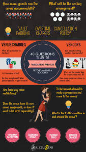 wedding venue questions 40 questions to ask your wedding venue before a booking