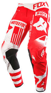 red dirt bike boots fox racing flexair union pants size 36 only revzilla