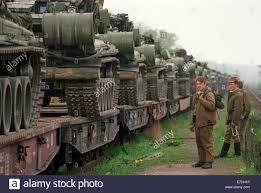 Bad Freienwalde The Russian Tank Brigade At The Bad Freienwalde Garrison Is Ready