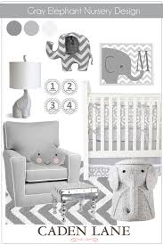 gray elephant nursery design modern baby bedding baby bedding