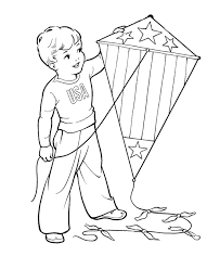kite coloring pages boys coloringstar