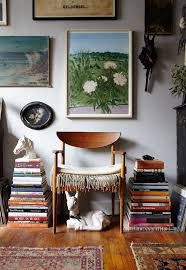 Book Stacking Ideas   the studio apartment that breaks all the small space rules