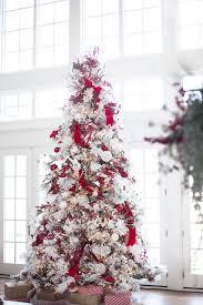 decorated flocked trees xmasnavidades info